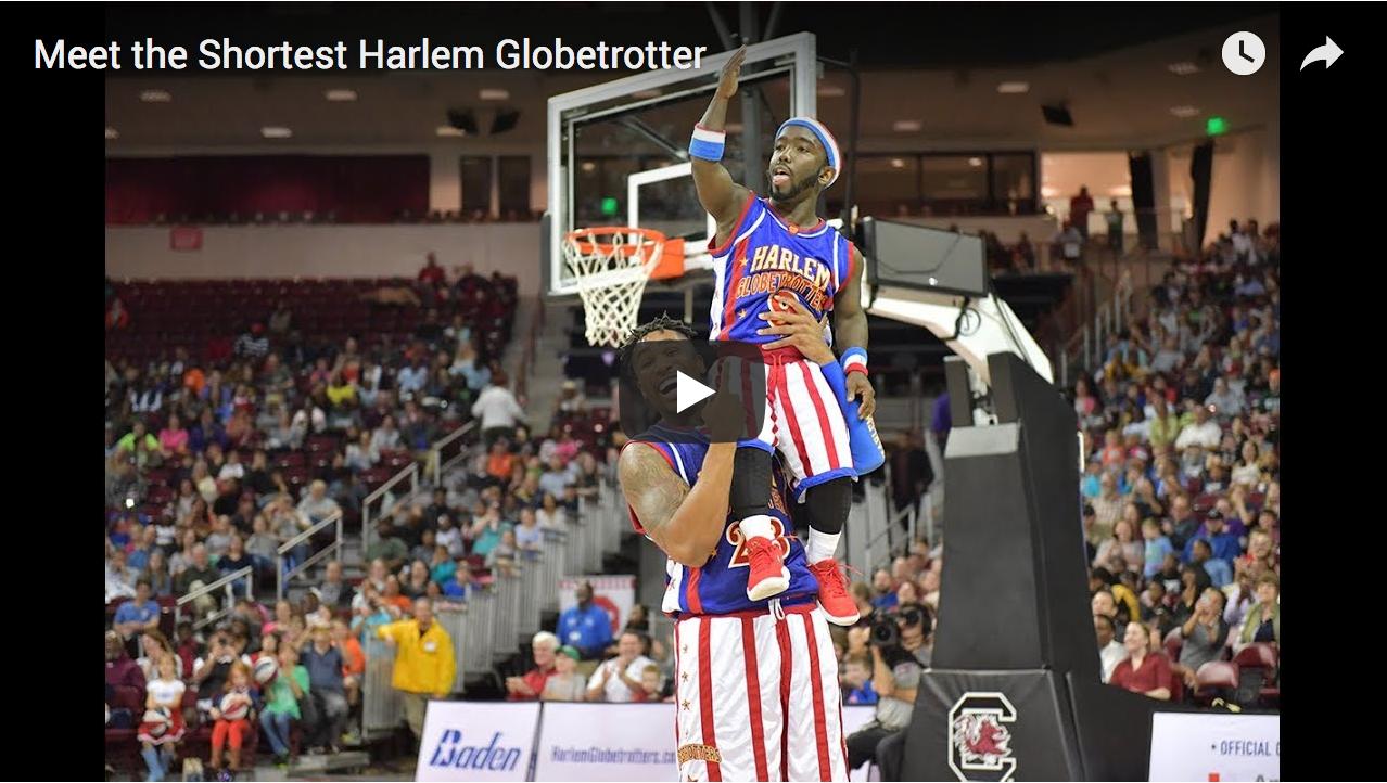 Meet the Shortest Harlem Globetrotter